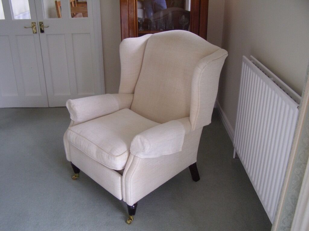Laura Ashley Southwold Ivorymanual Recliner Chair In