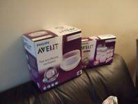 Philips Avent steriliser and newborn starter kit