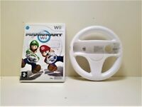 Mario Kart with Wheel Nintendo Wii