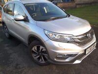 Honda CRV diesel 2015. Very low mileage