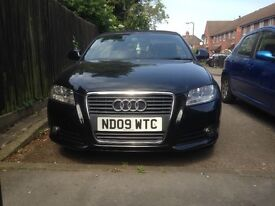 Audi A3 1.9tdi sports convertible 2lady owners from new 2sets of keys full Audi service history....