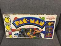 Vintage Rare retro PAC-MAN Video Game board game MB GAMES 80s SDHC
