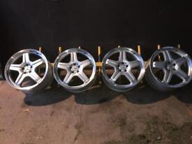 Mercedes ML AMG wheels