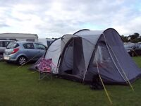 Very Tall 3 Man Tunnel Tent