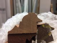 Hardwood sapele bolection moulding