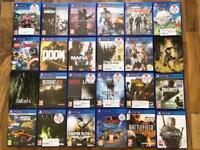 Ps4 (PlayStation 4) games , as new ! £10 each or 5 games for £40 ! Price stands , no offers !