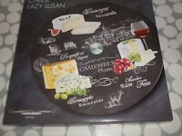 lazy susan cheese board