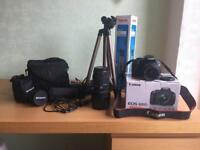 Canon EOS 600 D with extras