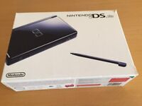 Nintendo DS Lite Black with Storage Case and Game