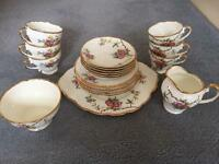 Rosalia Salisbury fine bone China tea set