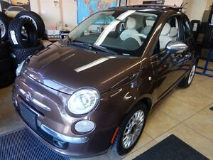 2013 Fiat 500 Lounge*TOIT PANO*MAGS*CUIR*