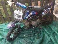 Pit bike 110cc semi auto £275 ovno
