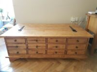 Laura Ashley Garrat 12 drawer coffee table