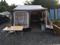 Camplet XLR canvas trailer tent