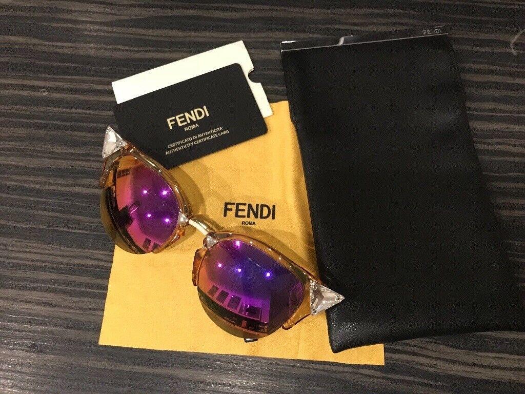 d359d4702674 Fendi Sunglasses Iridia FF0041 S 9F6 VQ Peach Palladium   Pink designer