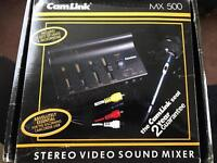 Cam link Stereo Video Sound Mixer