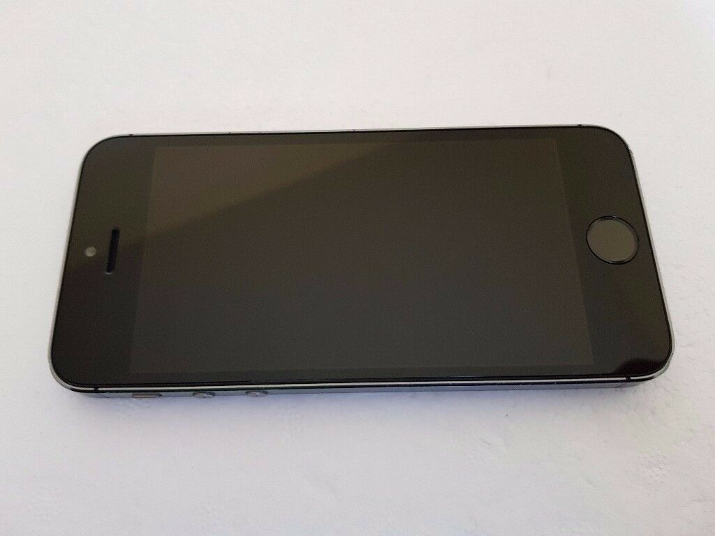 Apple iPhone 5s 32GB Space grey Vodafone UK in reasonable condition with Fingerprint Sensor Fault