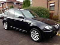 2006 BMW X3 M Sport 4x4 Manual 2.0d Fully loaed