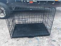Dog cage crate medium
