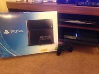 Sony PlayStation 4 (500gb-Jet Black) Bundle (with 6 games)