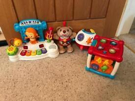 Vtech children's toy bundle