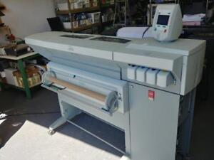 OCE TCS 500 WIDE FORMAT COLOR PRINTER PRINTER with  SCANNER