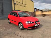 2004 04 Plate Seat Ibiza Automatic only 65,000 miles Full Service history, 2 keys!