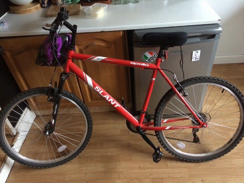 Men's bike Apollo Slant barely used