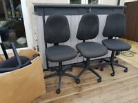 3 x OFFICE CHAIR CHAIRS + SPARE PARTS FREE DELIVERY
