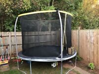 8' trampoline under a year old
