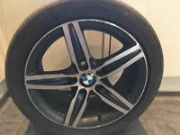 BMW 17inch Alloy and Tyre