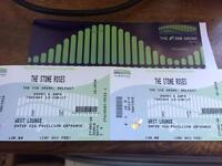 2 VIP tickets Stone Roses west lounge SSE arena Belfast June 13th.
