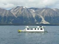 BOOK YOUR 2019 HOUSEBOAT RENTAL ON ATLIN LAKE!