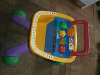 Fisher Price Toy Shopping Trolley