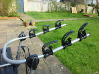 HIGH QUALITY ALUMINIUM 3 BIKE CYCLE CARRIER / BIKE RACK