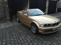 Bmw 320i convertible 73000 miles!!!!