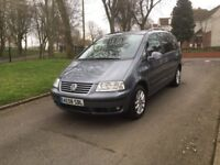 2008 VOLKSWAGEN SHARAN SE TDI AUTOMATIC 1.9 DIESEL 7 SEATER **DRIVES SUPERB + GREAT FAMILY MPV**