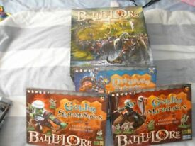 Battlelore + 3 expansions (rare)