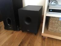 Tannoy EFX 5.1 Active Powered 120W Subwoofer Black