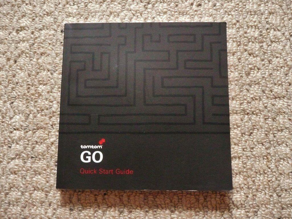 TomTom GO 510 Sat Nav Quick Start Guide / User Guide / Manual / Instruction  Booklet