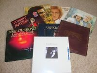 A COLLECTION OF 6 ORIGINAL VINYL ALBUMS FROM ARTISTS SUCH AS CLIFF RICHARD, NEIL DIAMOND ETC.