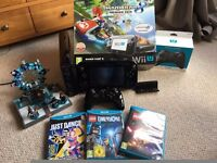 Nintendo Wii U Console Mario Kart 8 Premium Bundle With Additional Games & Controller