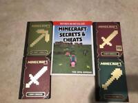 Minecraft Handbooks & Secrets & Cheats Guide Book