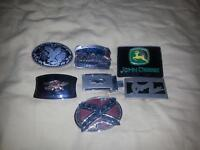 for sale. belt buckles collections. take them all for 25$.