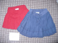 Bundle of 2 skirts from Next and ZigZag for girl 18-24mths/ 18-24 mths. In very good condition.