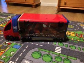 Spider-Man truck