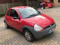 2006 FORD KA 1.3 PETROL MANUAL 3 DOOR HATCHBACK 4 SEAT RED STARTS DRIVE
