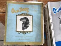 1960s & 70s Dog World and Our Dogs annuals