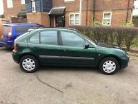 Automatic rover 25 12months mot