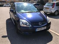 2004 Honda civic 1.6 petrol Automatic , 1 Yr MOT , Excellent runner